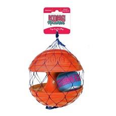 Brinquedo Cães Interativo Kong Rambler Ball Laranja