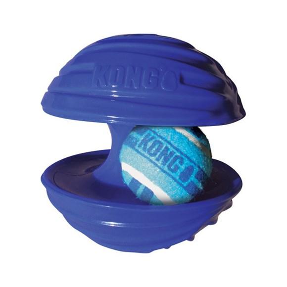 Brinquedo Cães Interativo Kong Rambler Ball Large Azul
