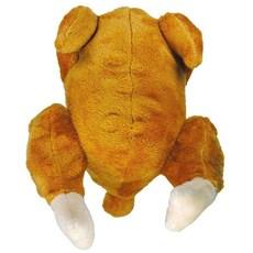 Brinquedo Cães Jambo Mordedor Pelúcia Frango Assado