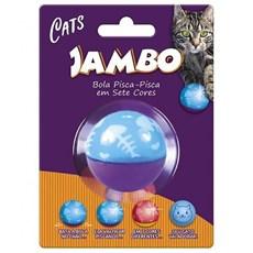 Brinquedo Gatos Jambo Bola Flashing Cat Wobbler