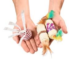 Brinquedo Gatos Mimo Conjunto Posh Fun