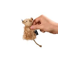 Brinquedo Gatos Mimo Ratinho Bege Catnip