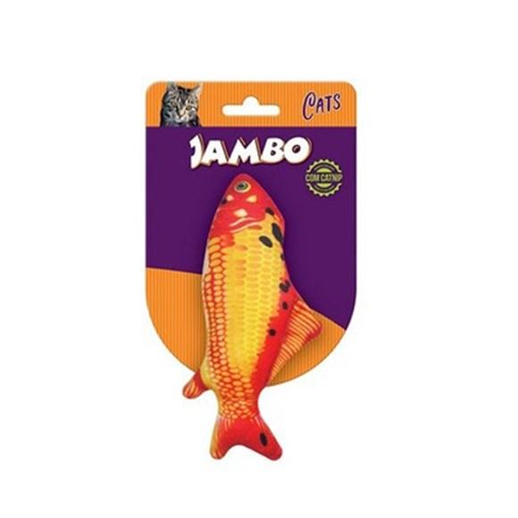 Brinquedo Gatos Real Fish Carpa Jambo