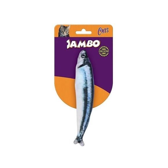 Brinquedo Gatos Real Fish Sauro Jambo
