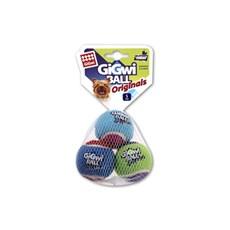 Brinquedo Gigwi para Cachorro Bola de Tênis Gigwi 3un