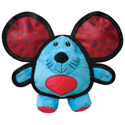 Brinquedo Interativo Balístico para Cães Kong Ears Mouse Medium