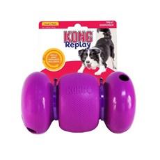 Brinquedo Kong Replay Small Pequeno Para Cães Cor:Roxo