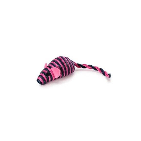 Brinquedo Mimo Para Gatos Ratinho Colors Rosa
