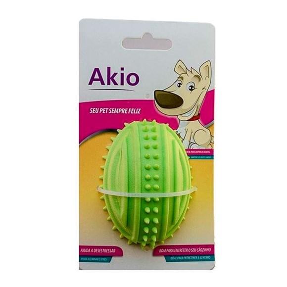 Brinquedo Mordedor Bola de Futebol Americano - Akio