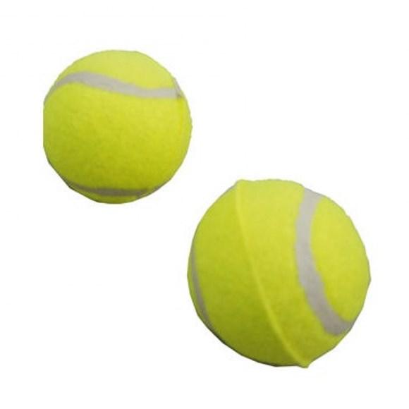 Brinquedo Mordedor Bola de Tenis Pequeno Chalesco - 2 Unid
