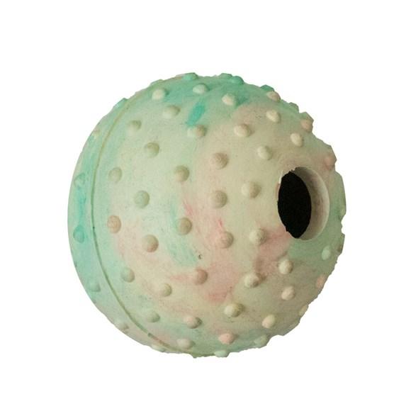 Brinquedo Mordedor Bola Para Ração Chalesco - Cores Sortidas