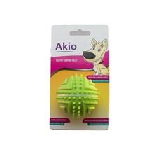 Brinquedo Mordedor Bolinha com Apito - Akio