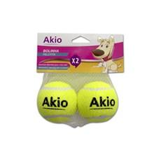 Brinquedo Mordedor Bolinhas de Tênis 2un - Akio