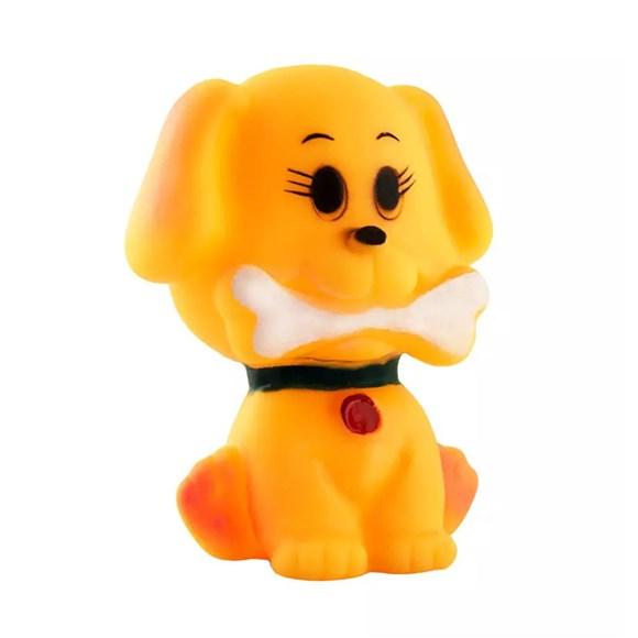 Brinquedo Mordedor Cachorrinho com Osso Napi