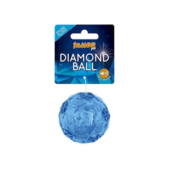 Brinquedo Mordedor Cães Diamond tpr Gde. Azul Jambo