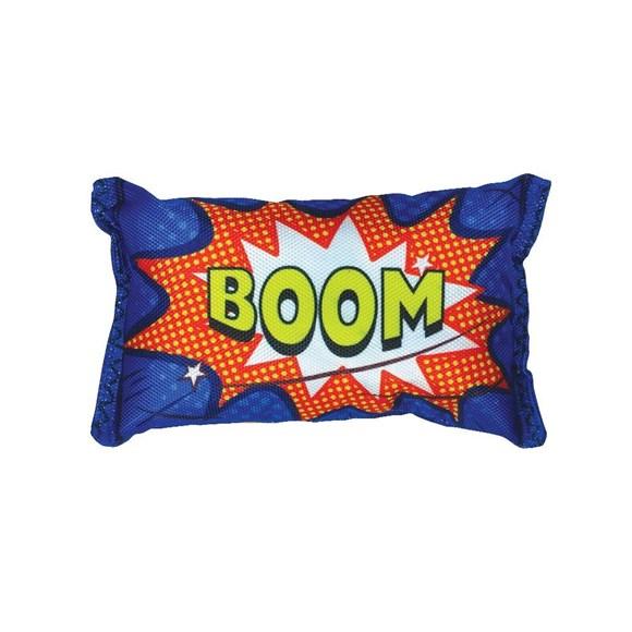 Brinquedo Mordedor Cães Pelúcia Bag Boom Azul Jambo