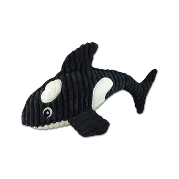Brinquedo Mordedor de Cachorro Aquatic Orca de Pelucia Jambo