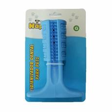 Brinquedo Mordedor Escova Dental Azul Napi Tam:G