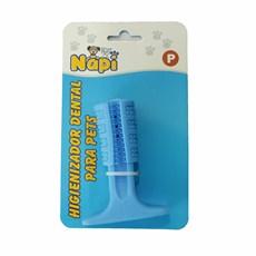 Brinquedo Mordedor Escova Dental Azul Napi Tam:P