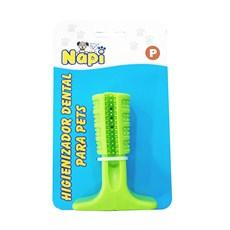 Brinquedo Mordedor Escova Dental Verde Napi Tam: P