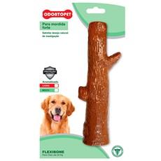 Brinquedo Mordedor Flexibone Tronco Cães Ate 22Kg Odontopet