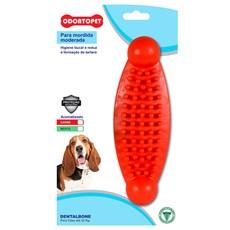 Brinquedo Mordedor Massageador para Cachorro Grande Dentalbone Até 22kg Azul