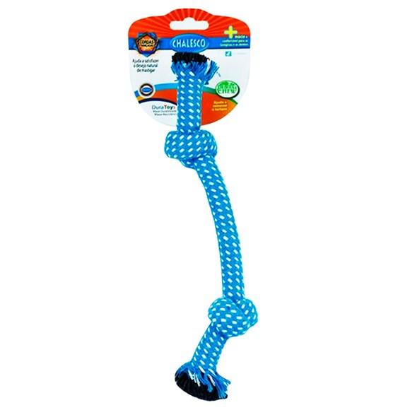 Brinquedo Mordedor Para Caes Rope No Azul - Chalesco