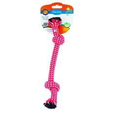 Brinquedo Mordedor Para Caes Rope No Rosa - Chalesco