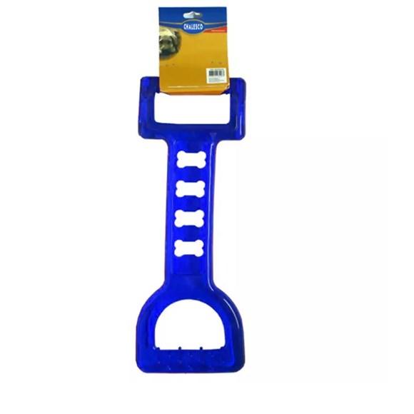 Brinquedo Mordedor Tração Azul Chalesco