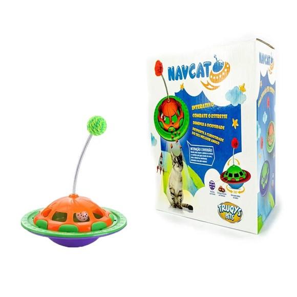 Brinquedo Nav Gatos Roxo - Truqys Pets