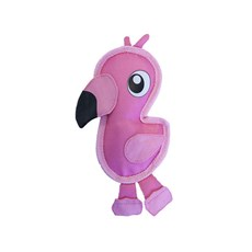 Brinquedo p/  Cães Invincibles Tough Seamz Mini Flamingo P