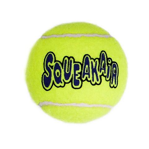 Brinquedo para Cachorro Bola de Tênis Kong Squeakair Large AST1