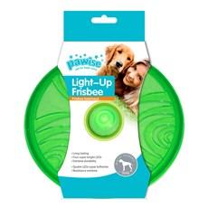 Brinquedo para Cachorro Frisbee com Luz Piscante Pawise VERDE