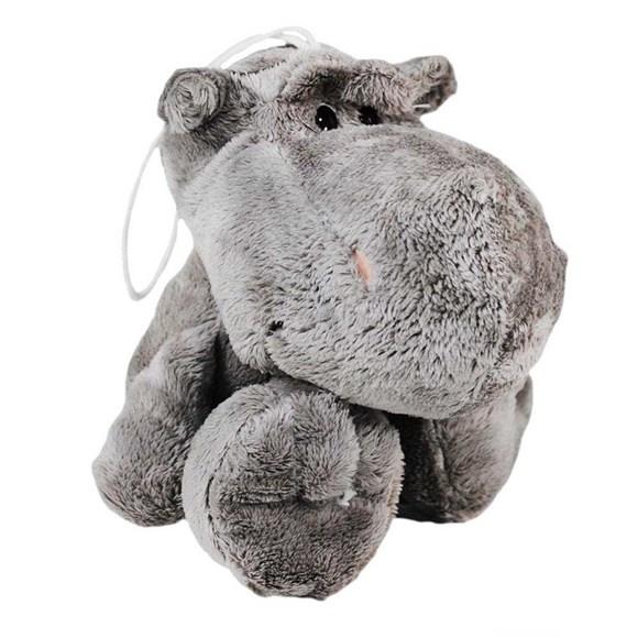 Brinquedo para Cachorro Hipopotamo de Pelucia Jungle Buddies