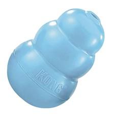Brinquedo para Cachorro Morder Interativo Kong Puppy Azul Large KP1
