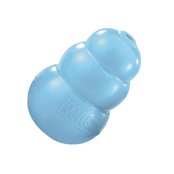 Brinquedo para Cachorro Morder Interativo Kong Puppy Azul X-Small KP4