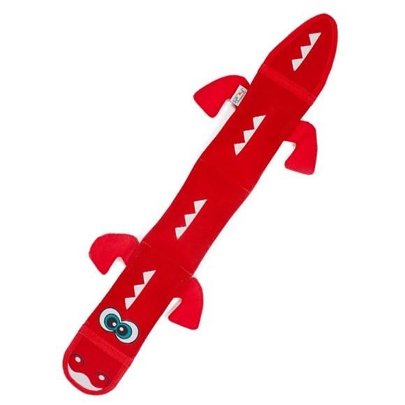 Brinquedo para Cachorro Morder Invincibles Fire Biterz Dragao Vermelho