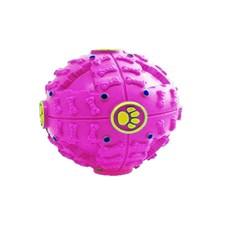 Brinquedo Para Cães Bola Interativa Rosa 7cm - The Pets Brasil