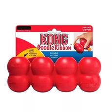 Brinquedo Para Cães Goodie Ribbon Medium Kong Vermelho