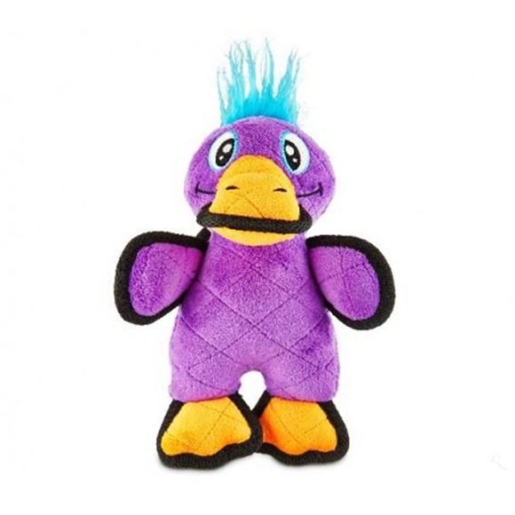 Brinquedo para Caes Morder Ornitorrinco Tough de Pelucia Resistente