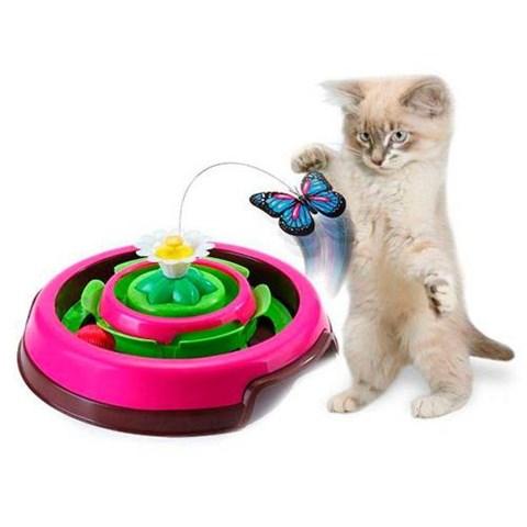 Brinquedo Para Gatos Cat Spin Rosa