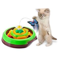 Brinquedo Para Gatos Cat Spin Verde