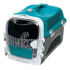 Caixa de Transporte Cabrio Cat Turquesa Para Gatos
