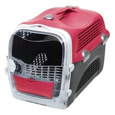 Caixa de Transporte Cabrio Cat Vermelho Para Gatos
