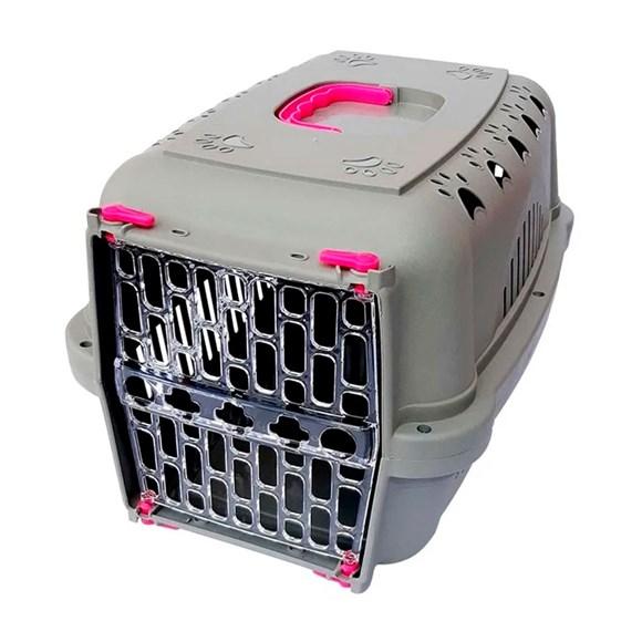Caixa De Transporte Durapets Falcon Neon Elegance Rosa N.2