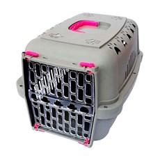 Caixa De Transporte Durapets Falcon Neon Elegance Rosa N.3