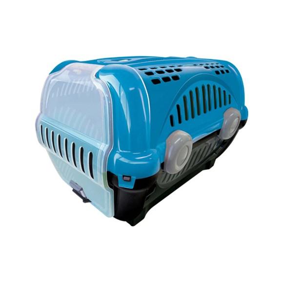 Caixa De Transporte Furacão Pet luxo Azul - Nº2
