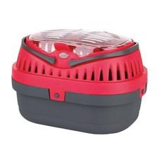 Caixa de Transporte Mini Gulliver para Hamster - Vermelho - P - Chalesco