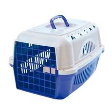 Caixa De Transporte Para Cães E Gatos Durapets Falcon N.1 Azul