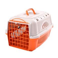 Caixa De Transporte Para Cães E Gatos Durapets Falcon N.1 Laranja